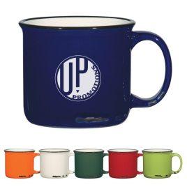 Rustic Mug- Bulk Custom Printed 15oz Distressed Ceramic Mug