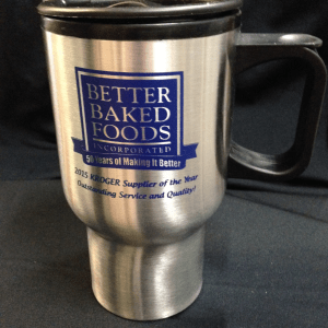 Stork- Custom Printed Bulk Low-cost Double Wall Stainless Steel Travel Mug