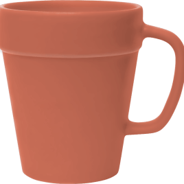 Sunflower- Bulk Custom Printed 14oz Terra Cotta Flower Pot Mug