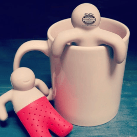 Mr. Tea- Bulk Custom Printed Silicone Tea infuser