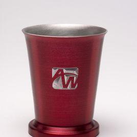 Angelfish- Bulk Custom Engraved 8oz Aluminum Mint Julep Cup