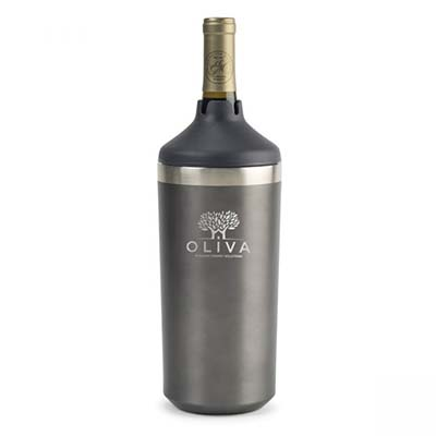 aviana wine cooler grey