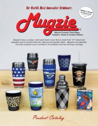 Mugzie -Bulk Custom Printed Double-Wall Stainless Steel Thermal Tumbler with Full Color Wrap