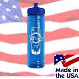 Gazelle- Bulk Custom Printed 24oz Bike Bottle, MADE IN THE USA