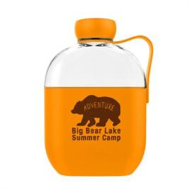 Bulk Custom Printed 22oz Hip Bottle