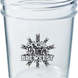 Custom Bulk Printed Plastic Mason Jar Style Shot Glass