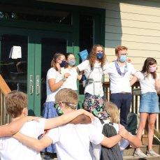 Masked Porch Singers