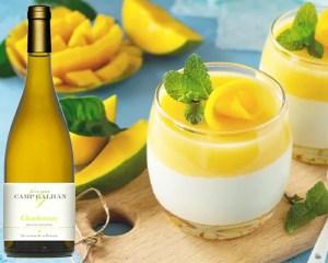 Chardonnay & Mousse à la Mangue