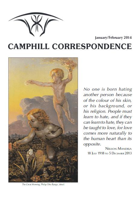 Camphill Correspondence January/February 2014