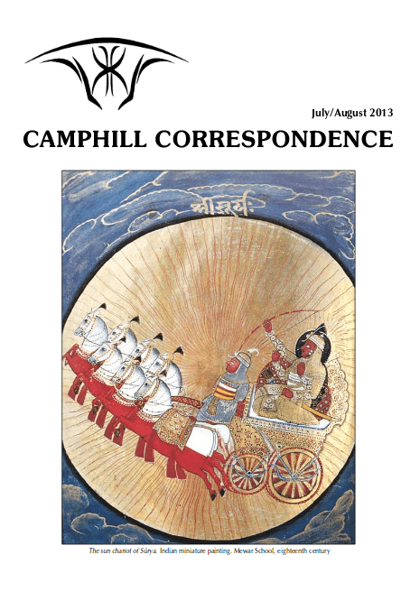 Camphill Correspondence July/August 2013