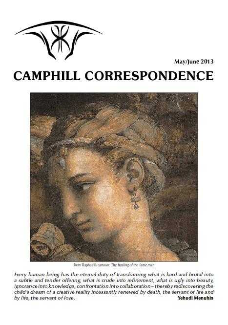 Camphill Correspondence May/June 2013