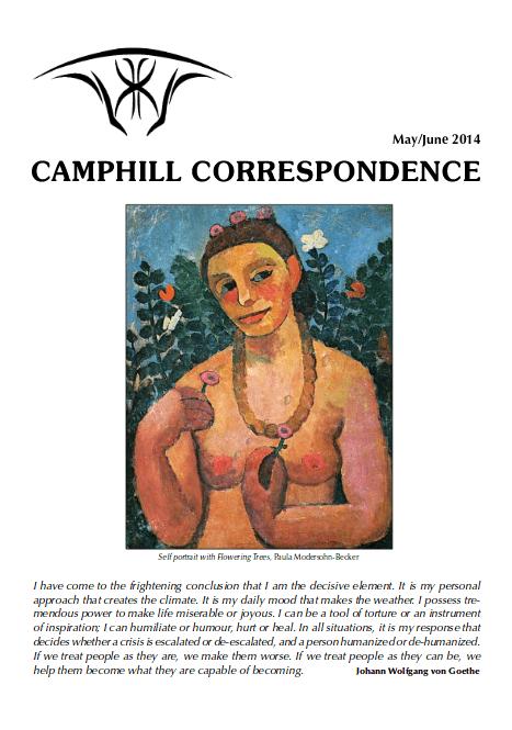 Camphill Correspondence May/June 2014