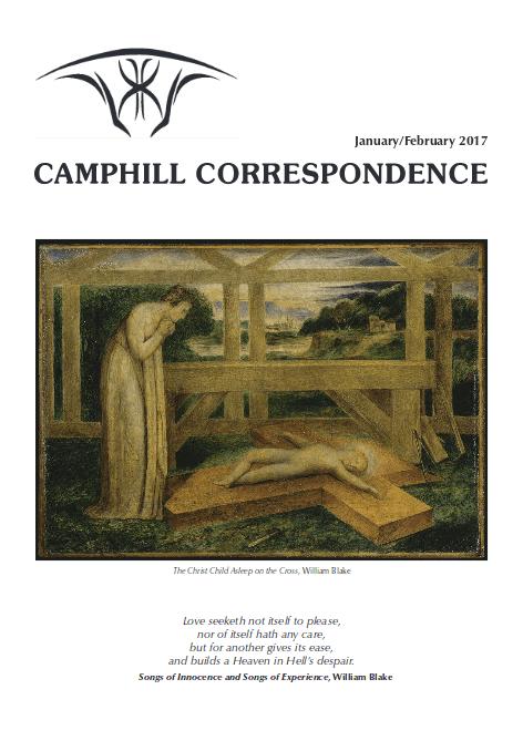 Camphill Correspondence January/February 2017