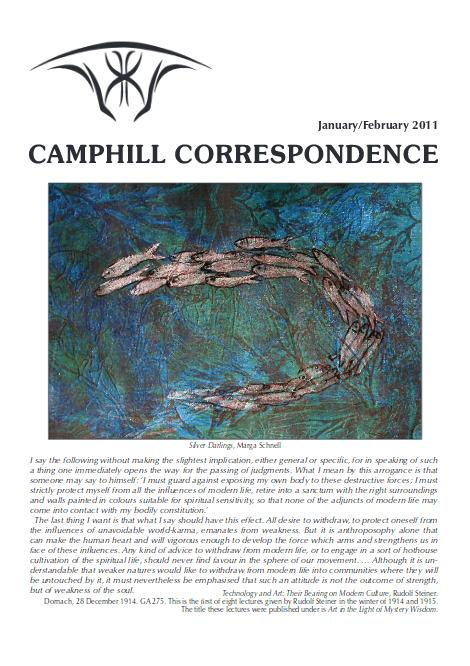Camphill Correspondence January/February 2011