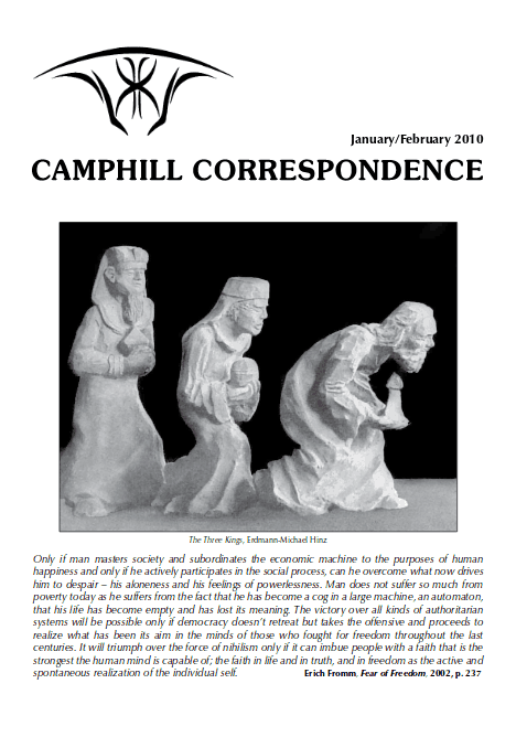 Camphill Correspondence January/February 2010