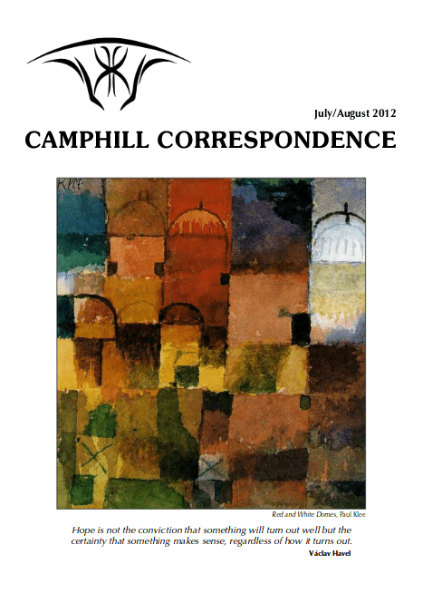 Camphill Correspondence July/August 2012