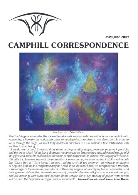 Camphill Correspondence May/June 2009