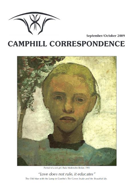 Camphill Correspondence September/December 2009