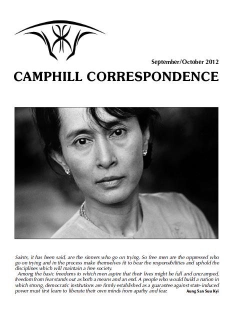 Camphill Correspondence September/October 2012