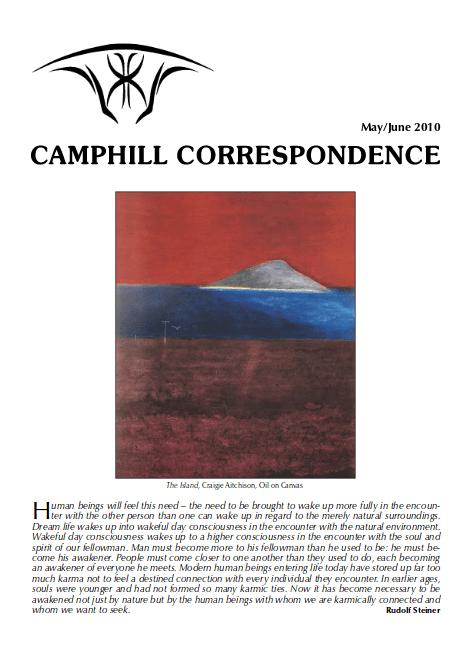 Camphill Correspondence May/June 2010