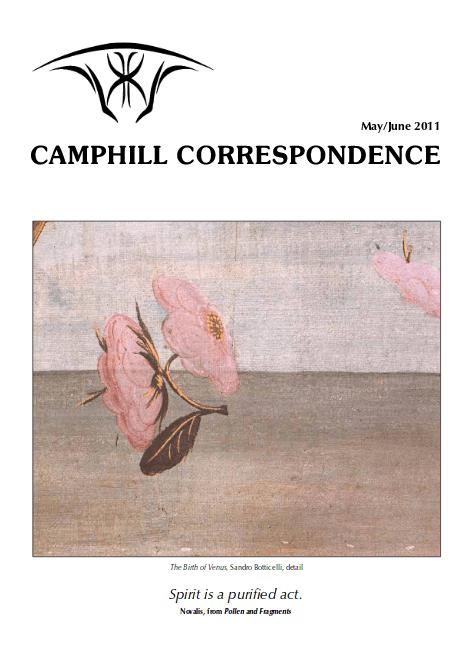 Camphill Correspondence May/June 2011