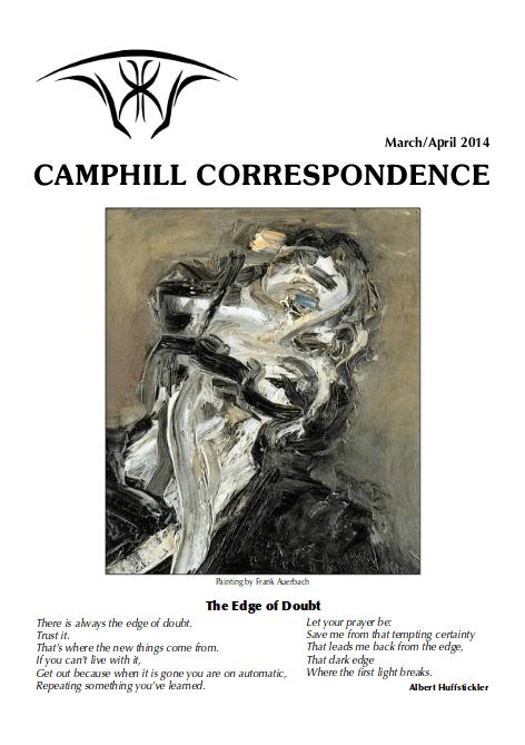 Camphill Correspondence March/April 2014
