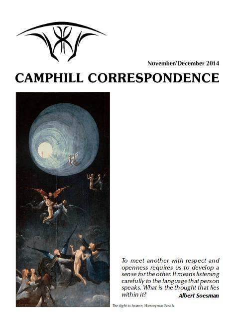 Camphill Correspondence November/December 2014