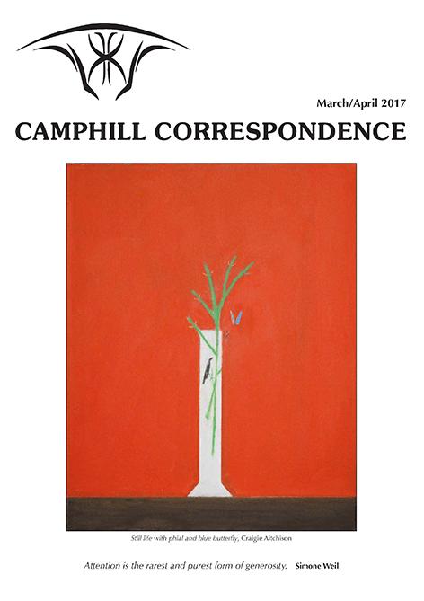 Camphill Correspondence March/April 2017