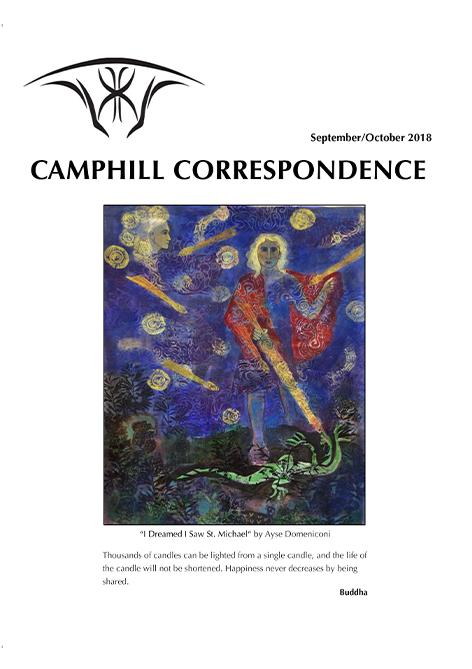 Camphill Correspondence September/October 2018