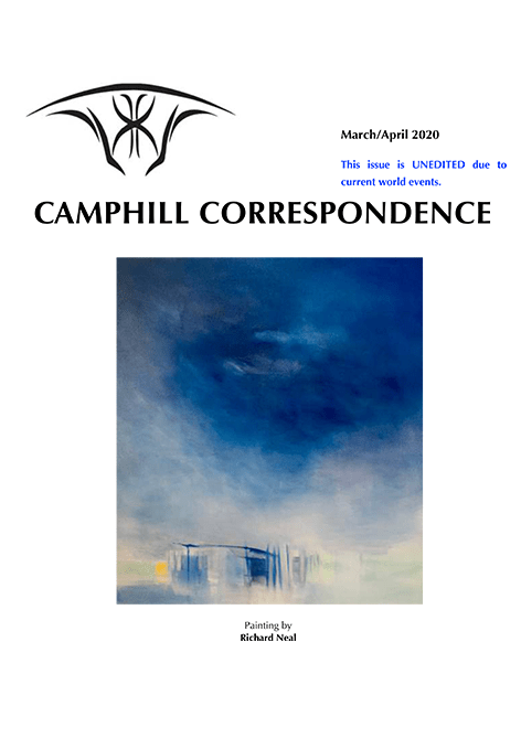 Camphill Correspondence March/April 2020
