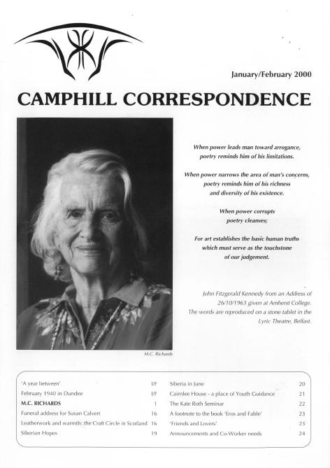 Camphill Correspondence January/February 2000