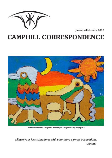 Camphill Correspondence January/February 2016