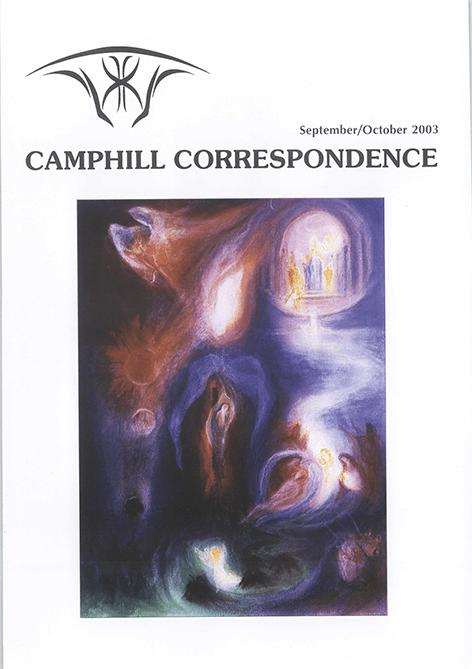 Camphill Correspondence September/October 2003