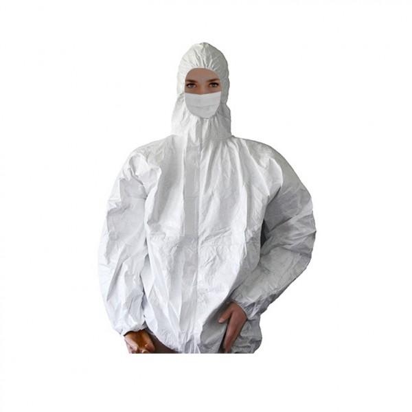 Tyvek Jacket with hood  Coat Jacket Pants  Disposable