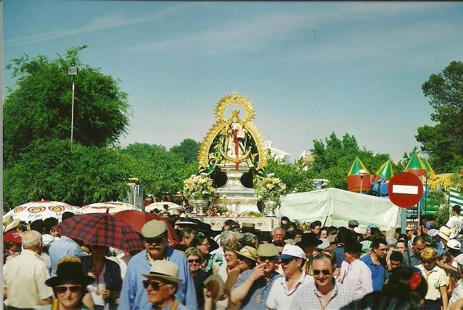 Romería de la Virgen de Alharilla, en Porcuna.