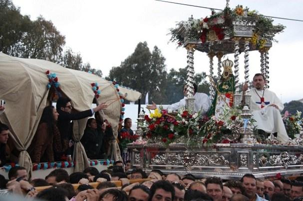 Romería de la Virgen de la Cabeza. Foto: Ayuntamiento de Andújar.