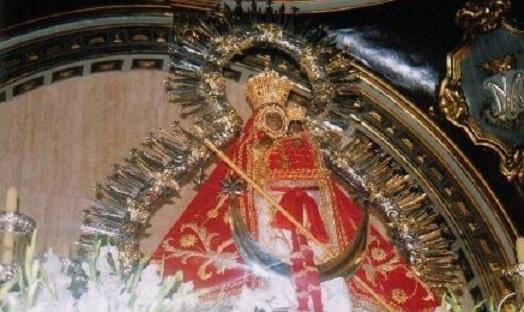 Imagen de la Virgen de la Cabeza, patrona de Andújar y de la Diócesis de Jaén.