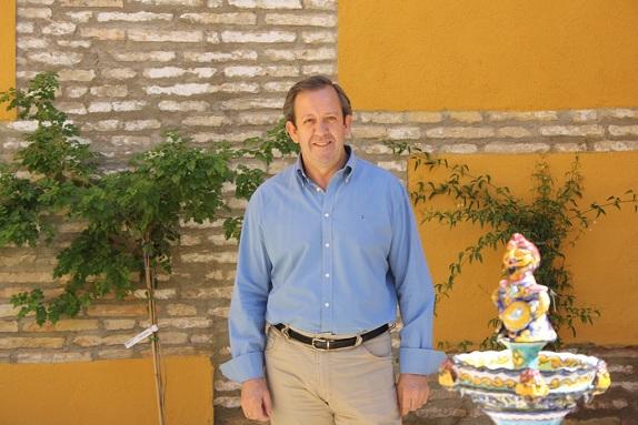 El concejal de Seguridad y Tráfico de Andújar, Francisco Carmona.