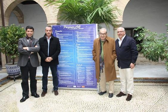 Ángel Luis Calzado, Joaquín Luque, Eduardo Criado y Jesús Estrella.
