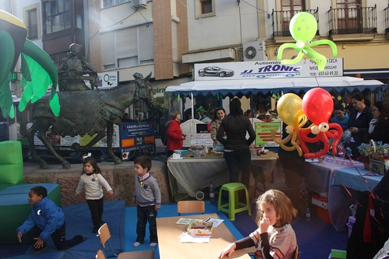 Actividades infantiles en Andújar.