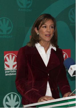 La portavoz del PA, Encarna Camacho.