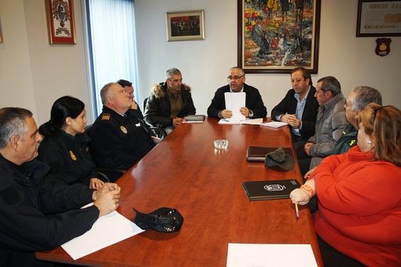 Reunión del Comité Asesor del Plan Municipal de Emergencias de Andújar.