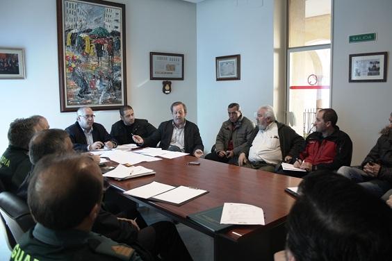Reunión del comité asesor en el Ayuntamiento de Andújar.