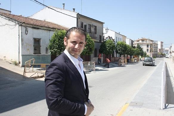 El Concejal de Servicios e Infraestructuras Urbanas de Andújar, Félix Caler.