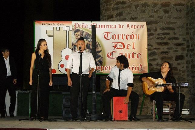 Lopera respiró flamenco por los cuatro costados.