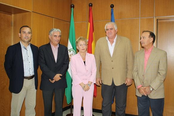 Responsables de COAG con la Consejera de Agricultura, Elena Víboras.