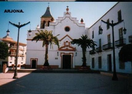 Plaza de San Martín, en Arjona.