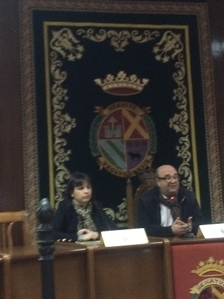Isabel Uceda y Antonio Javier Sánchez Camacho.
