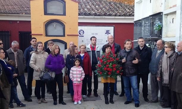 Homnaje a Pablo Iglesias