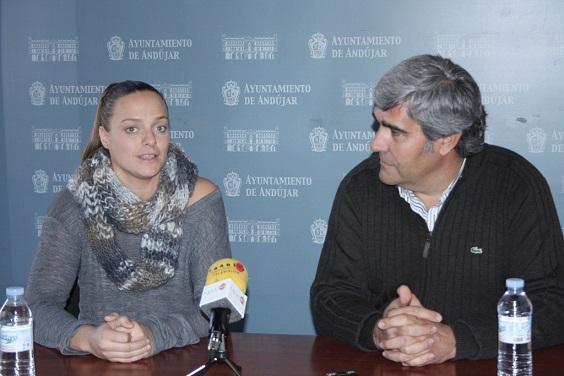 Jennifer Pareja y Curro Martínez.